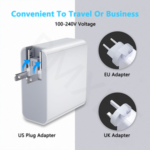 Image 5 - 48W Multi USB PD Charger For Samsung iPhone 11 Huawei laptop QC 3.0 Fast Wall USB Power Charger US EU UK Plug Type C USB Adapter