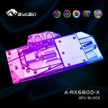Pc Radiator Water-Block Founders-Edition Radeon Rx6800 Graphic-Card Vga Cooler Bykski