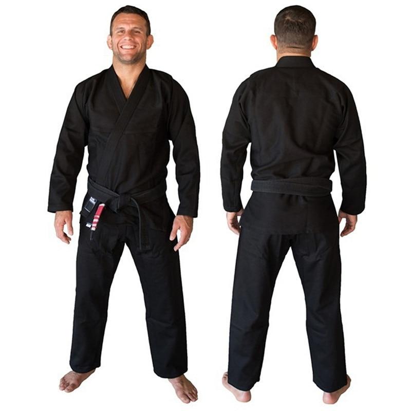 Fight Wushu Martial Arts Sets Boxing Training Brazil KORAL Brazilian Jiu Jitsu Judo Gi Uniform 3 Colors