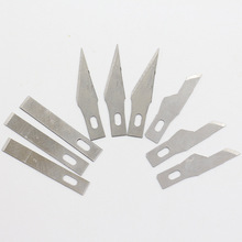 8 pieces / set of spare blade hand tools for multi-functional paper-cut cutter