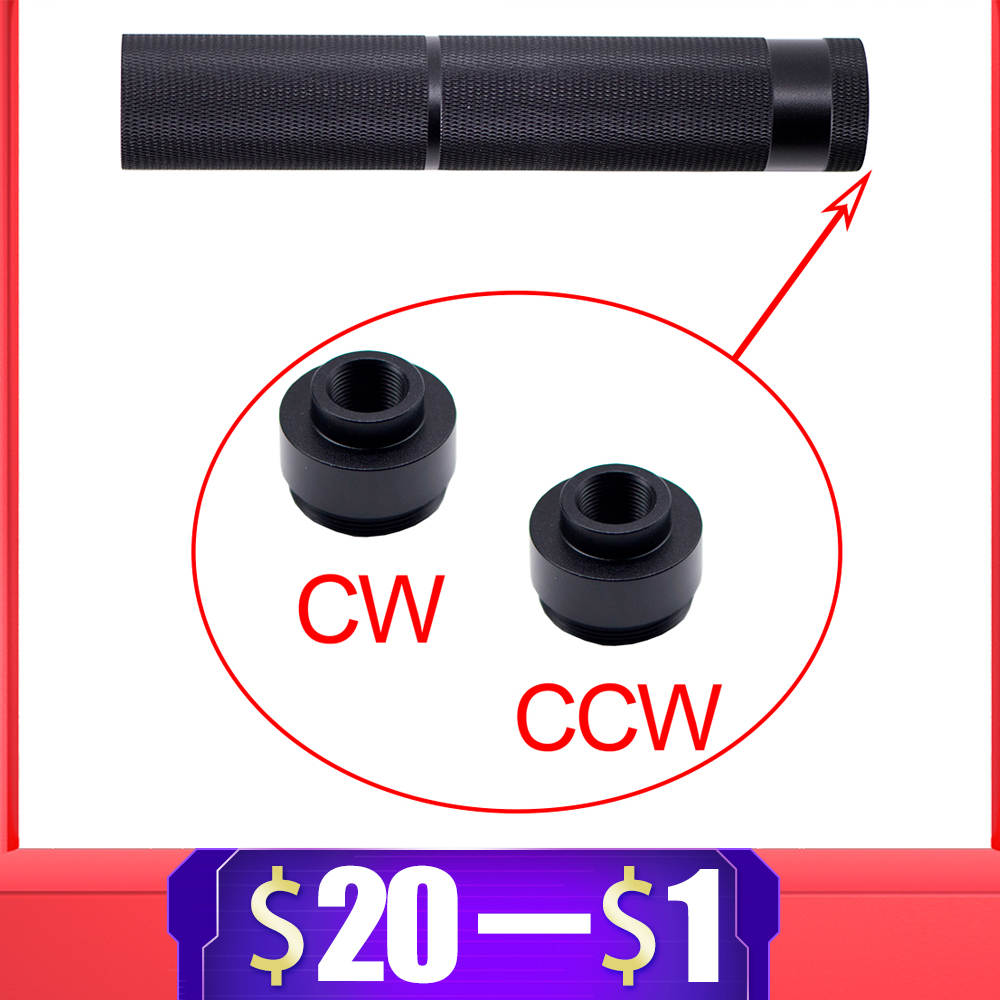 High Quality 14mm CW / CCW Adapter For Air Guns Airsoft M4 Gel Blaster Paintball Accessories