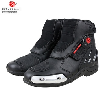 motorcycle competition boots anti-fall motorcycle boots men's riding boots motorcycle shoes spring and summer MR002