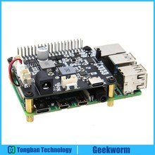 HAT U100-Ups Raspberry Pi Expansion-Board Cooling-Fan for 4B/3B /3B with Supports Voltage
