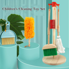 Broom-Set Cleaning-Tool Kids Children's House-Toy Play Dustpan Mini Mop for Combination