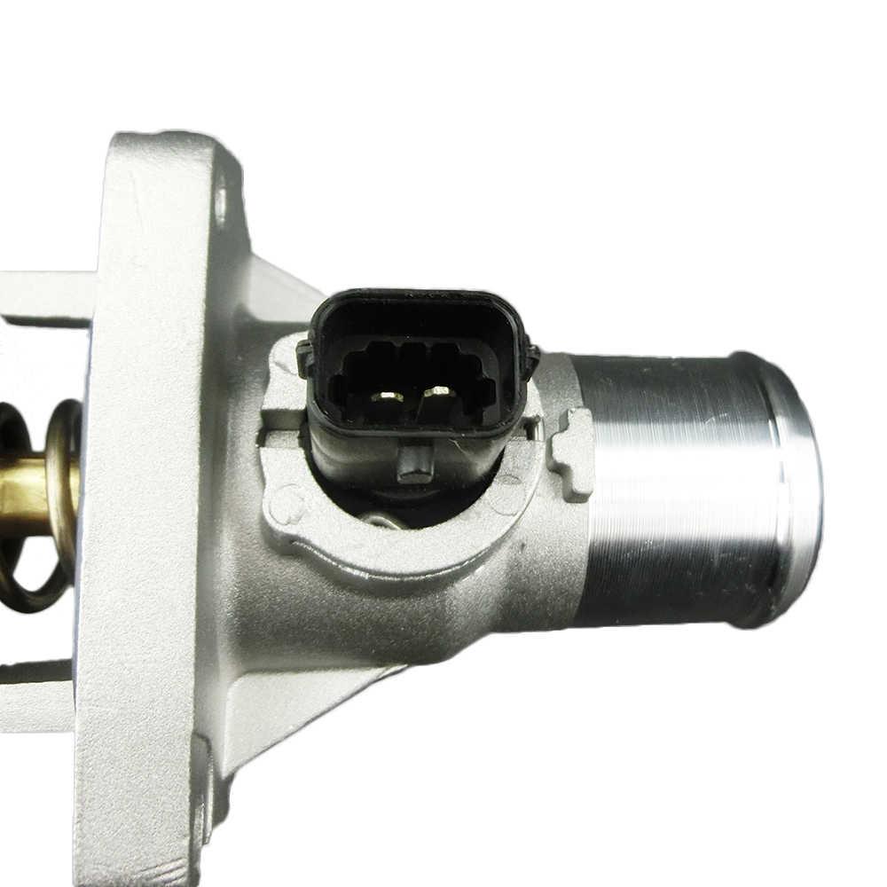 96984104 alüminyum termostat muhafaza düzeneği için Chevrolet Cruze için Chevy Aveo Sonic Tracker Orlando G3 motor soğutma vanası