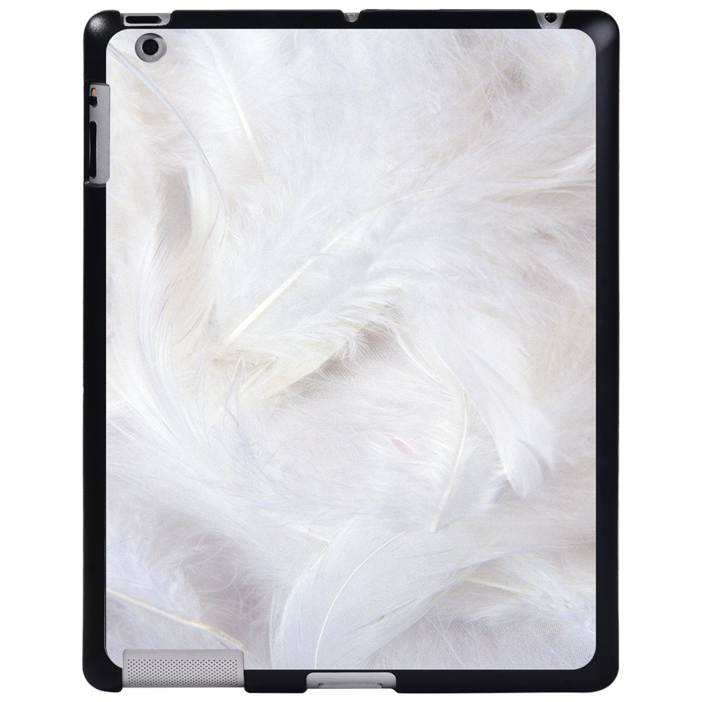 cream feather Red For Apple iPad 8 10 2 2020 8th 8 Generation A2428 A2429 tablet PC Plastic Printed