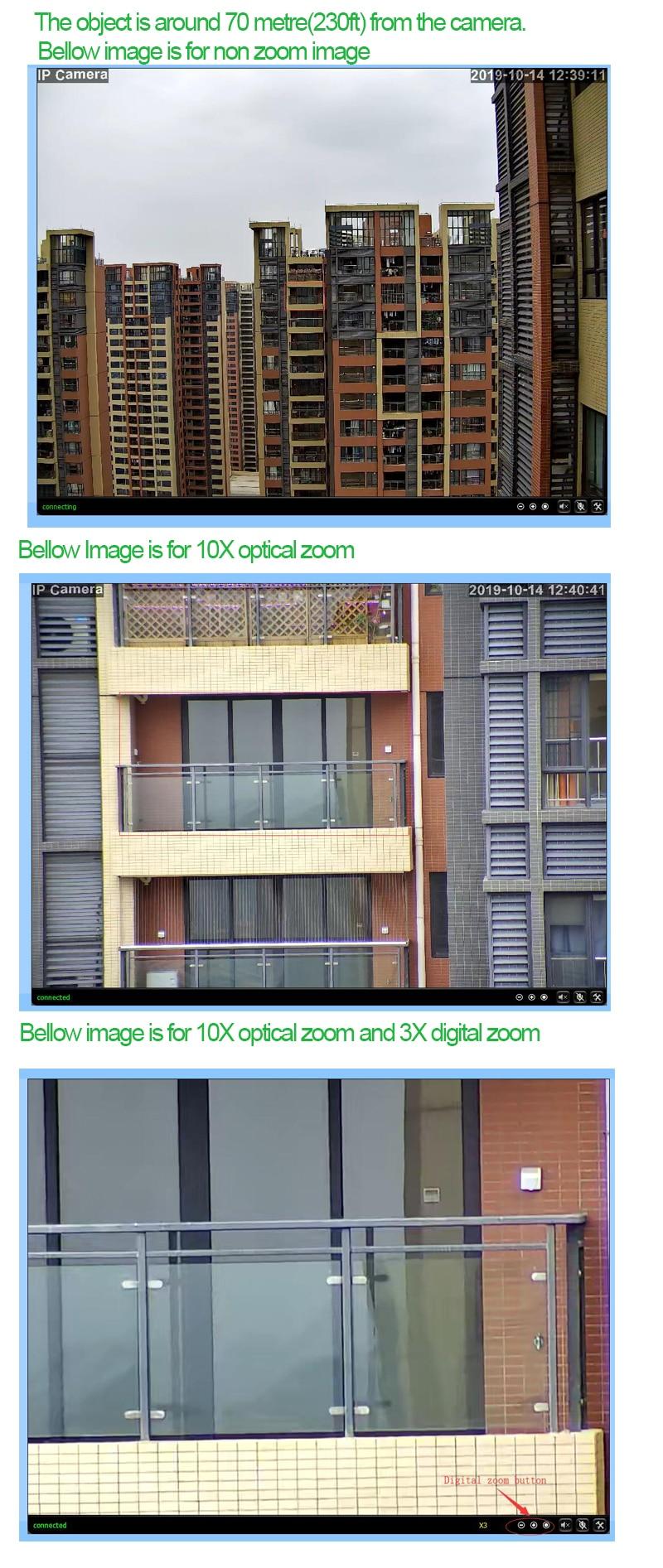 10X  zoom show