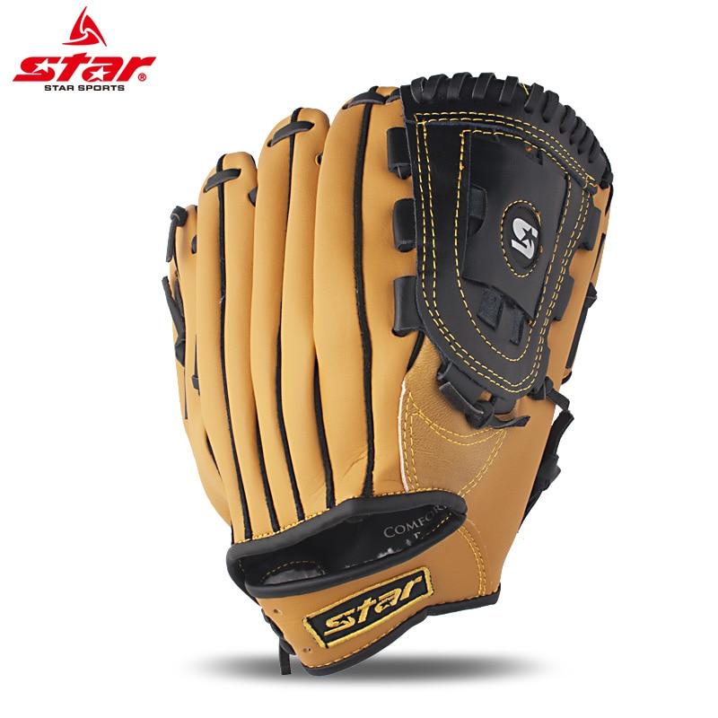Baseball Batting Gloves Kids Leather Baseball Glove Leather Equipment Adults Equipment Training Beisbol Outdoor Sports BJ50ST