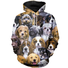 Tessffel Animal Cartoon Cute Dog Art Tracksuit Casual Harajuku 3D Print Hoodie/Sweatshirt/Jacket/shirts Men Women New Fashion s5