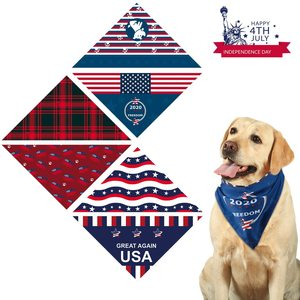 3PCS/bag dog triangle scarf na