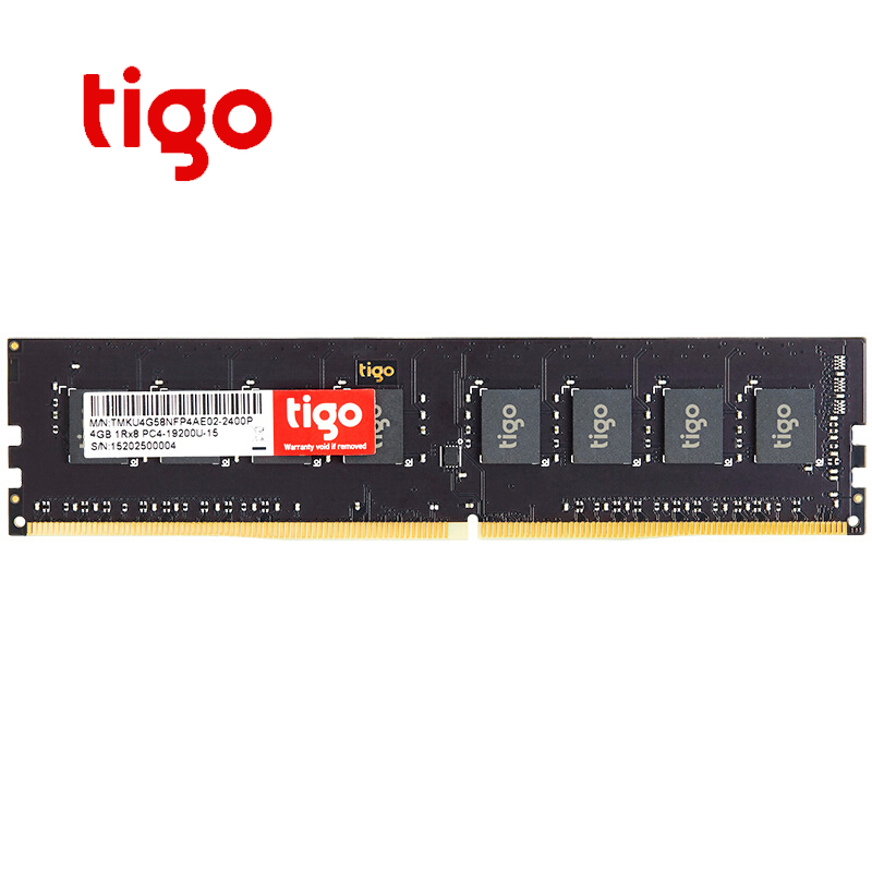 Tigo <font><b>DDR4</b></font> 4GB Memory 2400MHz DIMM <font><b>Memoria</b></font> PC DDR <font><b>4</b></font> <font><b>gb</b></font> Desktop compatible with 2133mhz <font><b>RAM</b></font> For Intel for AMD image