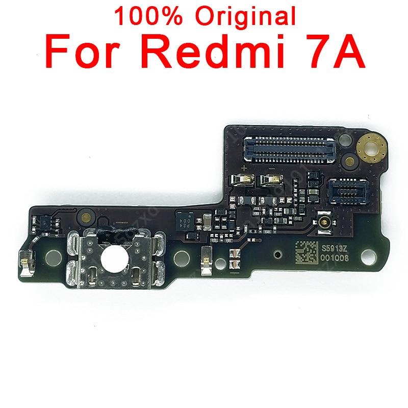Original Charging Port For Xiaomi Redmi 7A Charging Board USB Plug PCB Dork Connector Flex Cable Spare Parts