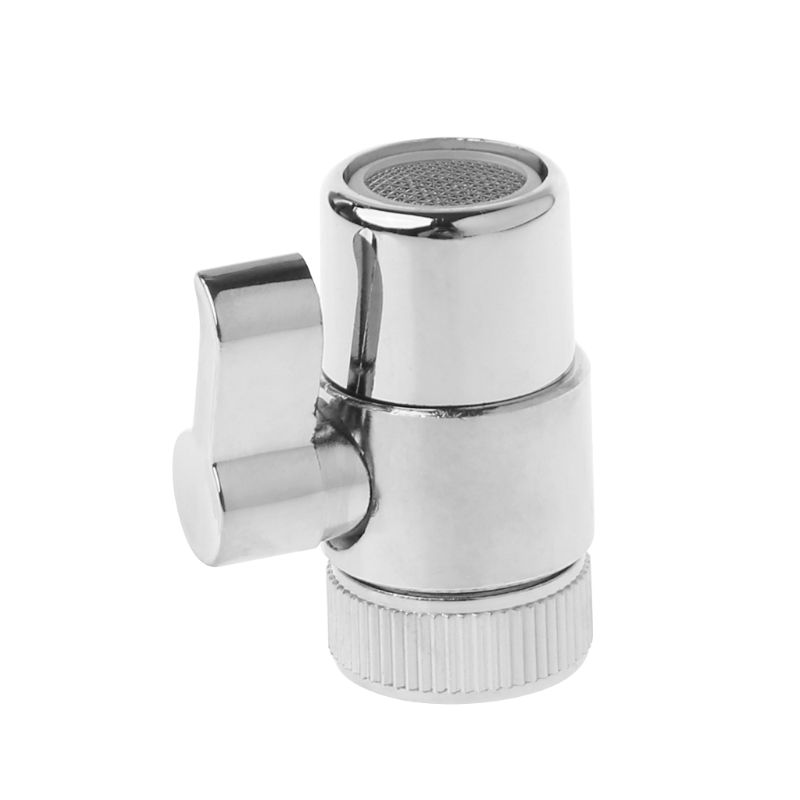 Drop Shipping Brass 3-way Diverter Valve Faucet Connector Adapter Three Head Function Switch