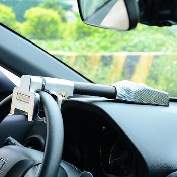 Car Steering Wheel Lock Universal Anti Theft Safety Alarm Lock Retractable Security Car Locks Auto Accessories