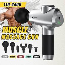Massage Gun Muscle Massager Muscle Pain Management Fascial Muscle Massager Fitness Exercising Deep Muscle Body Relief Pain