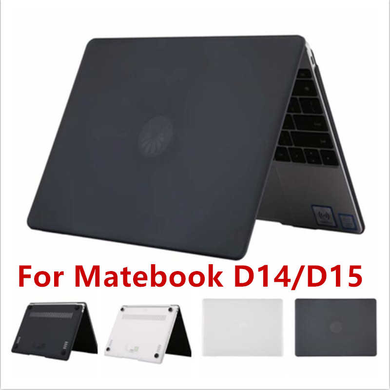 Laptop Fall für Huawei Matebook D14 D15 2020 Kristall Klar Transparent Matte Harte Laptop Shell Abdeckung für Matebook D 14 D 15 Fall