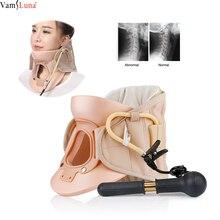 Шейный массажер для шеи, надувной шейный корсет, шейный корсет, шейные позвонки