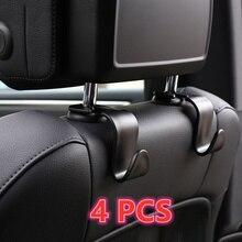 2pcs Car Seat Back Hooks Hanger Storage For BMW E36 E46 E81 E82 E87 E90 E91 E92 E93 E38 E39 Z4 Z3 E53 X5 E70 X3 X1 M Accessories