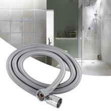 G1/2in Bathroom Flexible Shower Hose Stainless Steel Shower Head hose Pipe Replacement regadera para ducha stylish metal handheld straight round stick shower head w flexible stainless steel tube silver