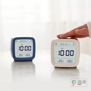 Image 3 - Youpin Cleargrass 3in1 Bluetooth Digitale Thermometer Vochtigheid Monitoring Wekker Nachtlampje Werken Met Mijia App Smart Home