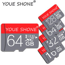 Gift adapter flash memory card 4GB 8GB 128GB tarjeta micro sd card 16GB 32GB 64GB memory stick usb pen drive TF Card for Phone(China)