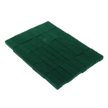 50 Pieces Upright Piano Damper Felt Set Keyboard Instrument Parts for Piano Green 28x10x7mm цена и фото