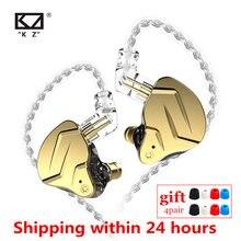 Kz zsn pro x 1dd + 1ba híbrido no ouvido fone de alta fidelidade dj monito correndo esporte metal earbud kz zstx zsx zs10 pro zsnpro ca16