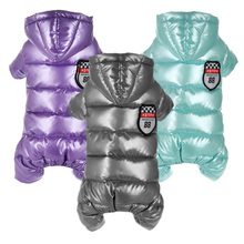 Clothes For Small Dogs Winter Warm Puppy Pet Dog Coats Waterproof Hooded Dog Jacket Jumpsuits Chihuahua Yorkie Clothing Overalls leisure cartoon chihuahua dog clothes for puppy overalls 2019 spring dog clothes for small dogs coats jackets puppies clothing