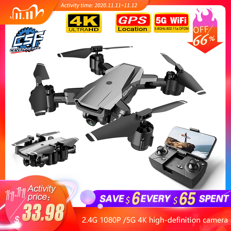 2020 NEW Drone gps HD 4K 1080P 5G WIFI video transmission height keep for with camera VS SG907 dron 20 minutes drones toys|RC Helicopters| - AliExpress