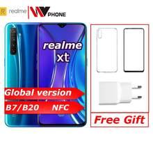 Realme xt Globale version Moblie Telefon 6.4 ''Full Screen Snapdragon 712 AIE 64MP Kamera NFC OPPO Handy VOOC