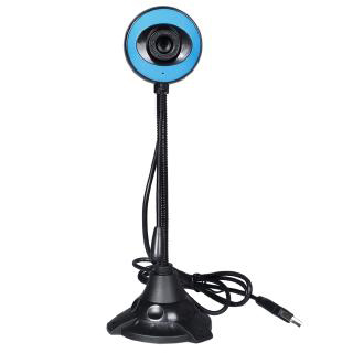 360 Degrees Webcam 480p USB Camera Rotatable Video Recording Web Camera With Microphone For PC Computer Peripherals USB2.0
