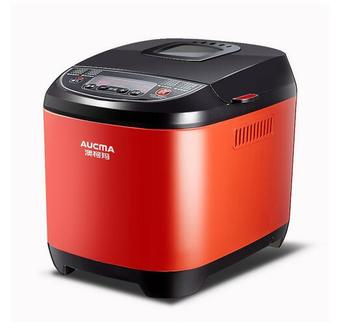 china AUCMA household bread maker 2in1 AMB-206 dough noodle home  diy jam yogurt cake steamed bread machine 500-750g red Toaster 1