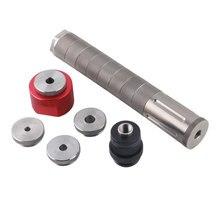 1/2x28 veya 5/8x24 yakit filtresi titanium modüler araba motoru 9.5 inç 9mm solvent tuzakları adaptör güçlendirici Jig