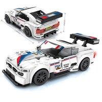 Racing Car City Speed Champions Sports Model  4