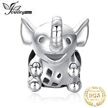 JewelryPalace слон стерлингового серебра 925 оригинальный бусины подвески для браслет оригинальный изготовление ювелирных изделий