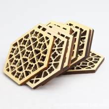 None Wooden Hexagonal Embossed Erhu Sound Window Solid Wood Urheen Accessory Stringed Instruments Parts & Accessories(China)