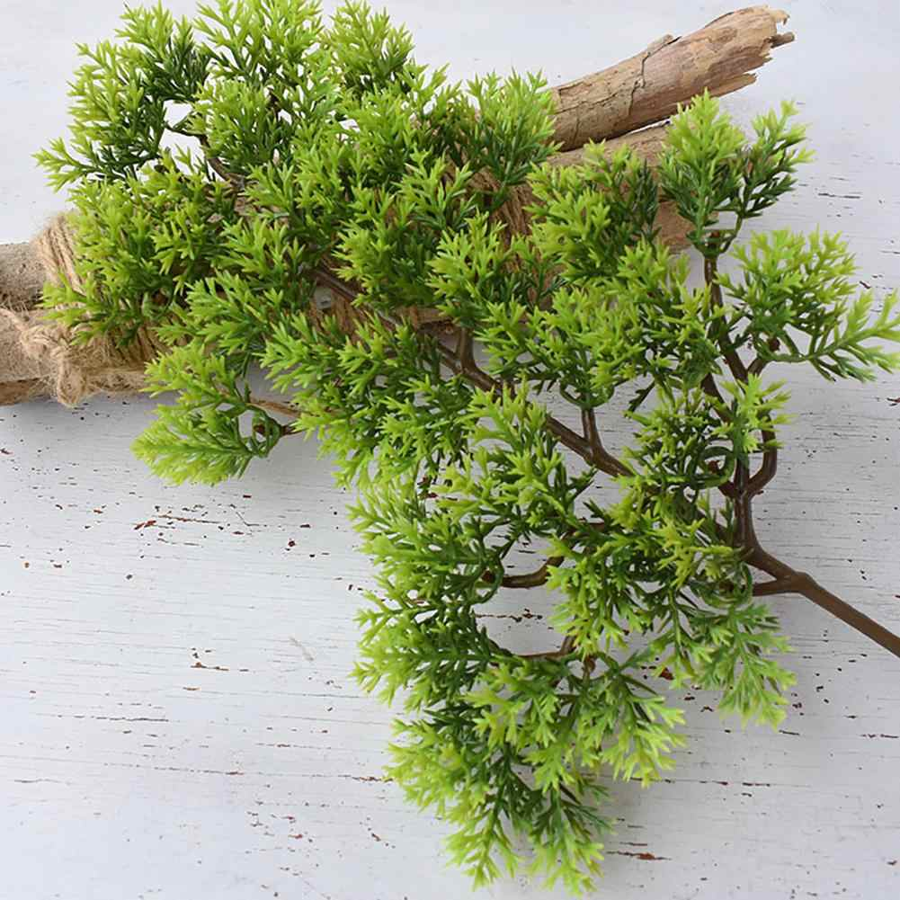 Vendita calda 1Pc di Plastica Finto Artificiale Pino Cypress della Pianta dei Bonsai Garden Home Office Decor