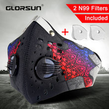 GLORSUN dust mask n99 neoprene smog fog motorbike riding face mouth anti n99 air filter wholesale anti odor smog smoke mask(China)