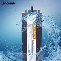 Controlador LED impermeable IP68, 12V, 24V, 10W, 20W, 30W, 45W, 60W, 80W, 100W, 120W, 150W, 200W, 250W, fuente de alimentación para tira de luces LED