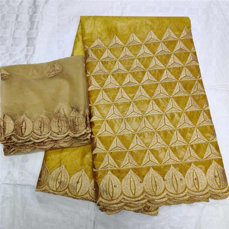 2019 新着石アフリカバザンリッシュ生地刺繍レース/リッシェドレス素材ナイジェリア 12L062723