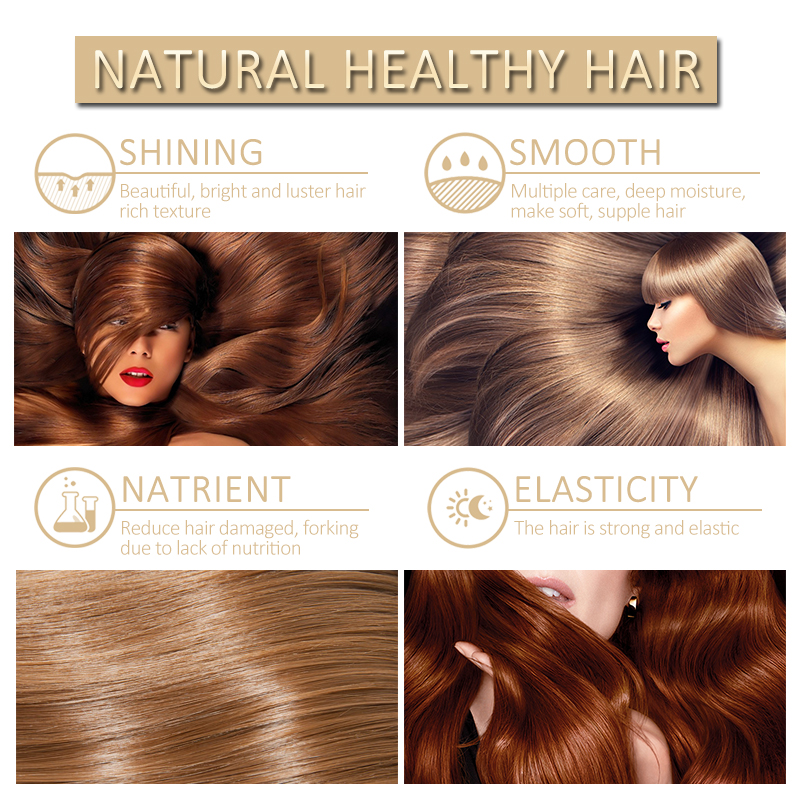 PURE Keratin Hair Repair Treatment Formalin 5% Professional Curly Hair Straightener Hair Extension Shiny Hair & Scalp Treatment 4