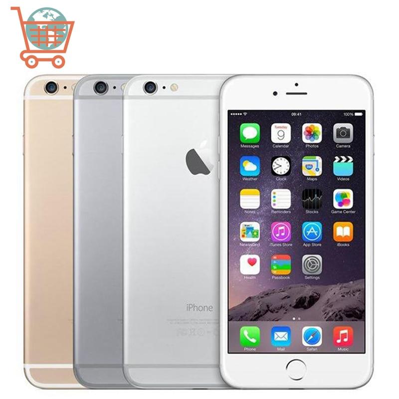 Оригинальный мобильный телефон Apple iPhone 6 iPhone 6 Plus, 4,7 дюйма, iPhone 6 P 16/64/128 Гб ПЗУ, 8,0 МП камера, IOS 4G LTE