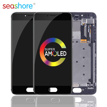 """5.2""""ORIGINAL For MEIZU Pro 6 LCD Touch Screen Digitizer Assembly For Meizu Pro6 Display with Frame Replacement M570Q M570C M570Q"""