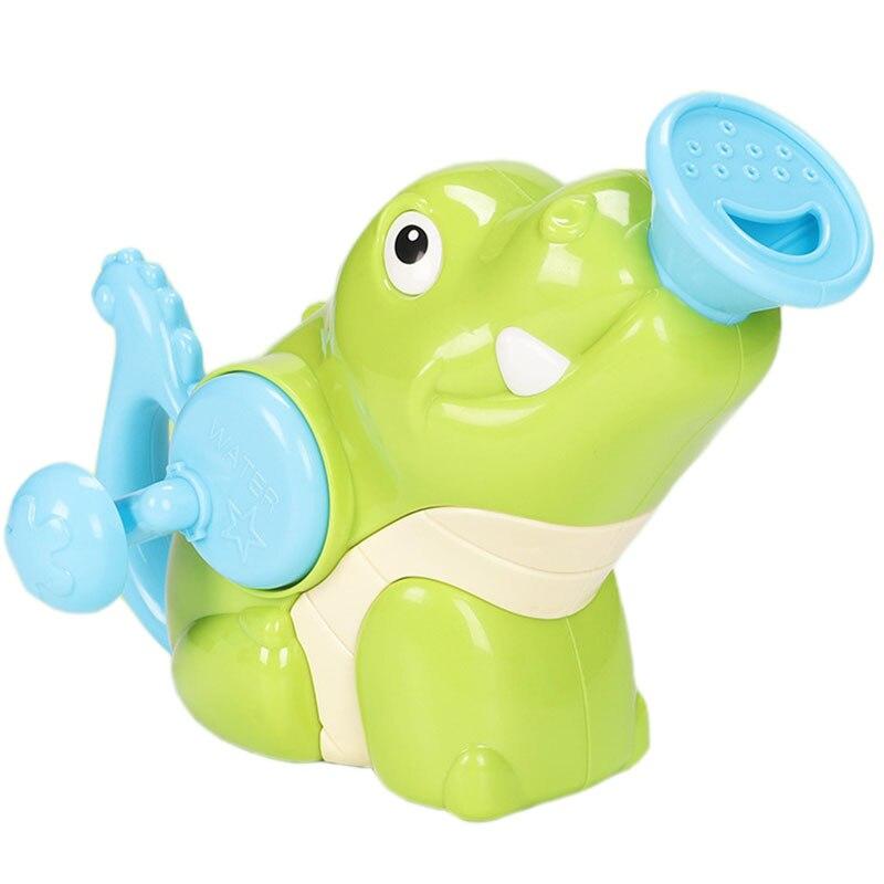 Watering Pot Bath Toys Baby Swimming Bathroom Bath Shower Tool Water Hand Spray Toys 36 Months Kids Toy, Crocodile