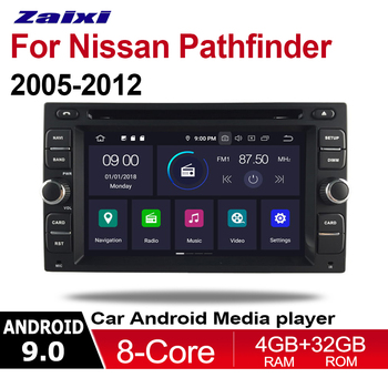Android Multimedia Car Player For Nissan Pathfinder 2005-2012 GPS Radio System DVD 2 Din Display Touch Screen image