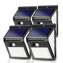 Solar-Light Garden-Decoration Motion-Sensor Outdoor Street LED for 100--150 Porch-Path