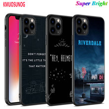 Black Silicone Case 13 Reasons Why for iPhone 11 11Pro XS MAX XR X 8 7 6S 6 Plus 5S Gloss Phone Cover
