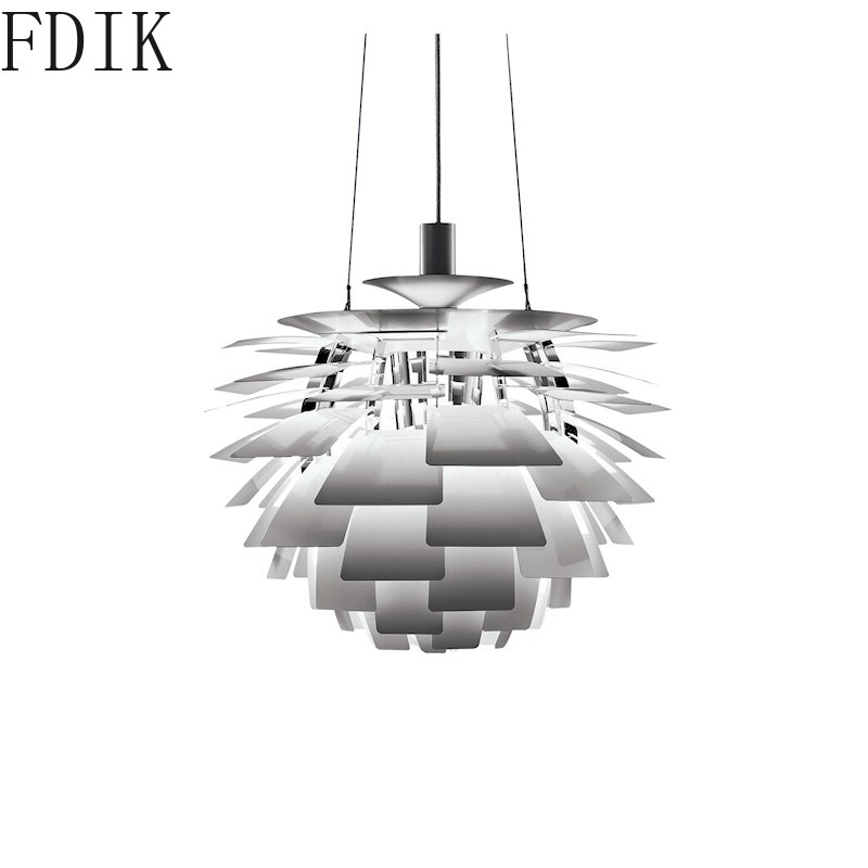 Nordic PH Pine Cone Metal Pendant Lights For Dining Room Hotel Store Vintage Decor Hanging Lamp Classic Led Luminaire Suspension