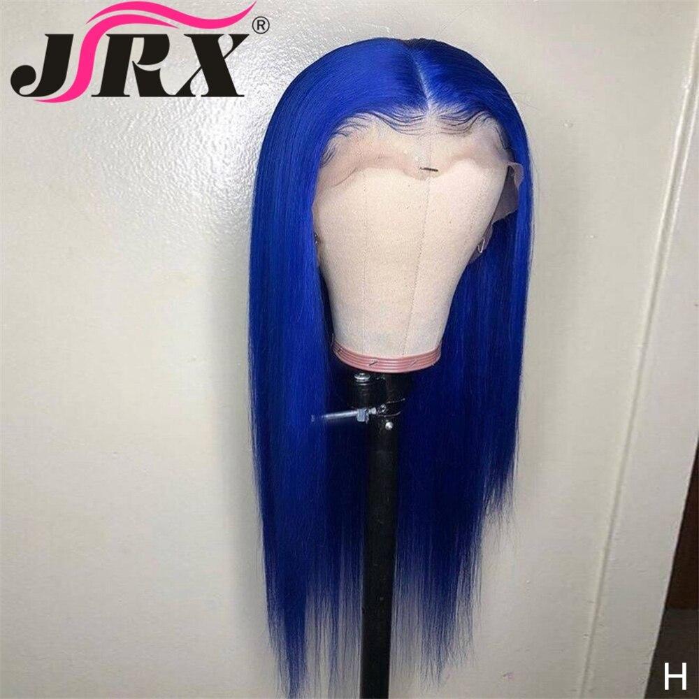 Prosto 613 koronkowa peruka na przód 150% gęstość 13x4 prosto miód blond w niebieskim kolorze peruki koronki przodu włosów ludzkich peruk dla kobiet