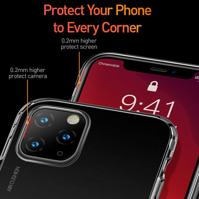 Air Bag Clear TPU Case for iPhone 11/11 Pro/11 Pro Max 2